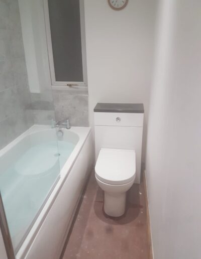 New Bathroom Toilet